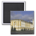 Russia, Moscow, Kremlin, Senate Palace, 2 Inch Square Magnet