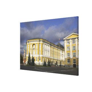 Russia, Moscow, Kremlin, Senate Palace, Canvas Print
