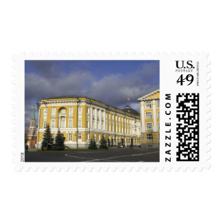 Russia, Moscow, Kremlin, Senate Palace, Postage Stamp