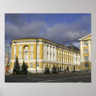 Russia, Moscow, Kremlin, Senate Palace, Poster