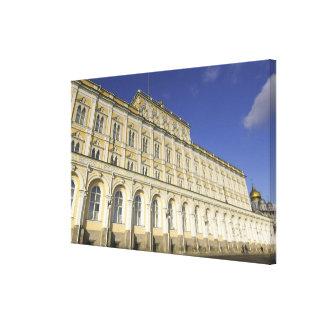 Russia, Moscow, Kremlin, The Grand Kremlin Gallery Wrap Canvas