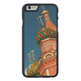 Russia, Moscow, Kremlin, Vasiliy Blessed Carved Maple iPhone 6 Case
