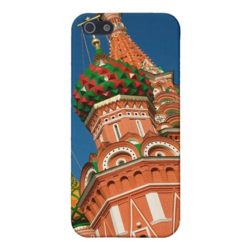 Russia, Moscow, Kremlin, Vasiliy Blessed Cases For iPhone 5