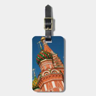 Russia, Moscow, Kremlin, Vasiliy Blessed Luggage Tag