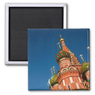 Russia, Moscow, Kremlin, Vasiliy Blessed Fridge Magnet