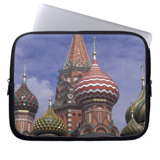 Russia, Moscow, Red Square. famous onions of St. Laptop Computer Sleeves