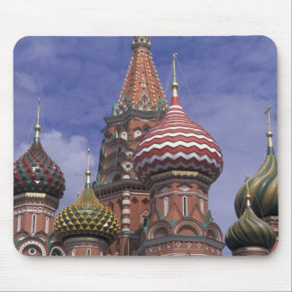 Russia, Moscow, Red Square. famous onions of St. Mouse Pad