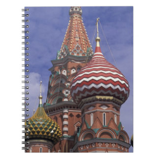 Russia, Moscow, Red Square. famous onions of St. Note Book