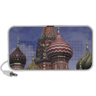 Russia, Moscow, Red Square. famous onions of St. Laptop Speakers