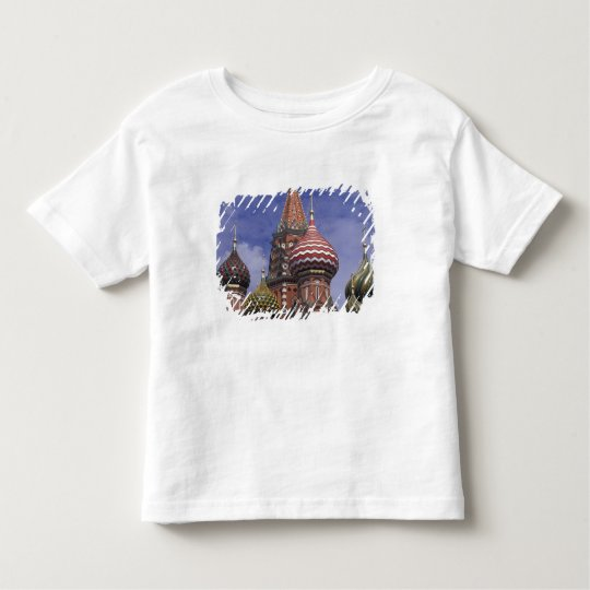 Russia, Moscow, Red Square. famous onions of St. Toddler T-shirt