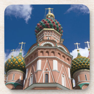 Russia, Moscow, Red Square. St. Basil's 2 Drink Coaster