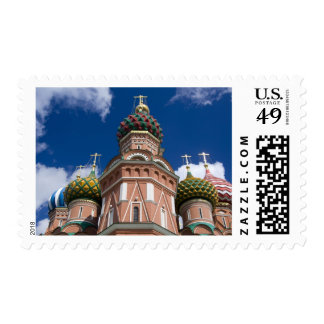 Russia, Moscow, Red Square. St. Basil's 2 Postage
