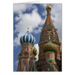 Russia, Moscow, Red Square. St. Basil's 4 Cards