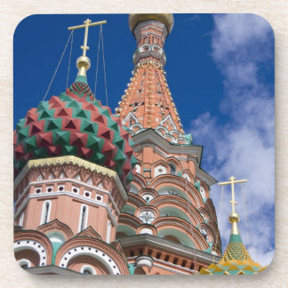 Russia, Moscow, Red Square. St. Basil's 5 Beverage Coaster
