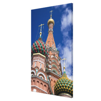 Russia, Moscow, Red Square. St. Basil's 5 Canvas Print