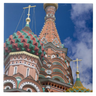 Russia, Moscow, Red Square. St. Basil's 5 Ceramic Tile