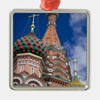Russia, Moscow, Red Square. St. Basil's 5 Metal Ornament