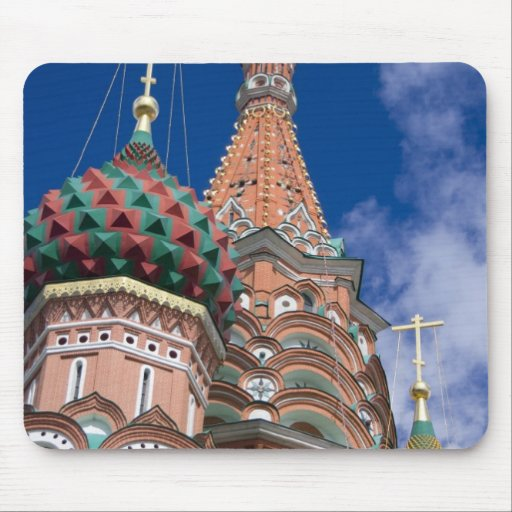 Russia, Moscow, Red Square. St. Basil's 5 Mousepads