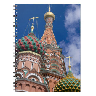 Russia, Moscow, Red Square. St. Basil's 5 Notebook