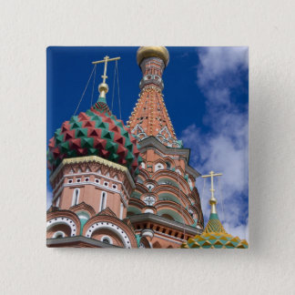 Russia, Moscow, Red Square. St. Basil's 5 Pinback Button