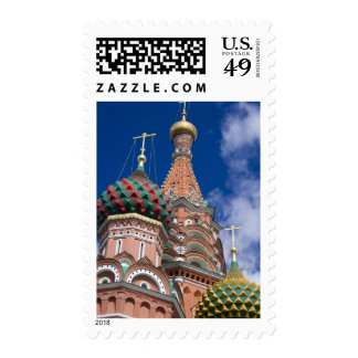 Russia, Moscow, Red Square. St. Basil's 5 Stamps