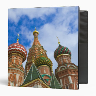 Russia, Moscow, Red Square, St. Basil's 3 Ring Binder