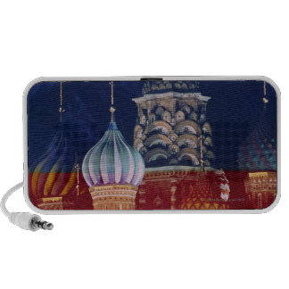 Russia, Moscow, Red Square St. Basils Cathedral, Travelling Speaker