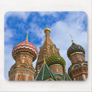 Russia, Moscow, Red Square, St. Basil's Mouse Pad