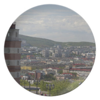 Russia, Murmansk. Largest city north of the Melamine Plate