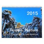 Russia. Nature. 2015 Calendar