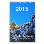 Russia. Nature. 2015 Calendar Vertical Small