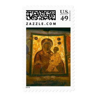 Russia, Novgorod Province, Tikhvin Monastery, Stamps