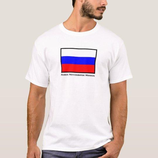 Russia Novosibirsk LDS Mission T-Shirt