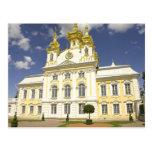 Russia. Petrodvorets. Peterhof Palace. Peter the 2 Postcard
