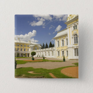 Russia. Petrodvorets. Peterhof Palace. Peter the 3 Pinback Button