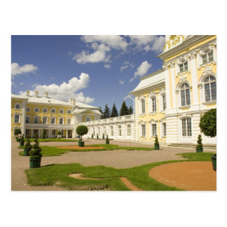 Russia. Petrodvorets. Peterhof Palace. Peter the 3 Postcard