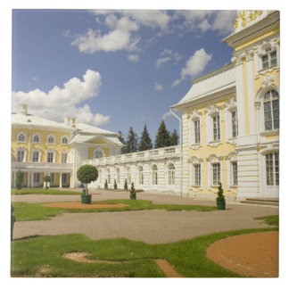 Russia. Petrodvorets. Peterhof Palace. Peter the 3 Tile
