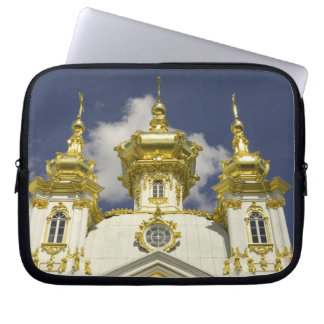 Russia. Petrodvorets. Peterhof Palace. Peter the 4 Computer Sleeves