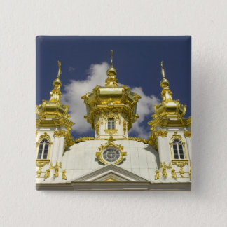 Russia. Petrodvorets. Peterhof Palace. Peter the 4 Pinback Button