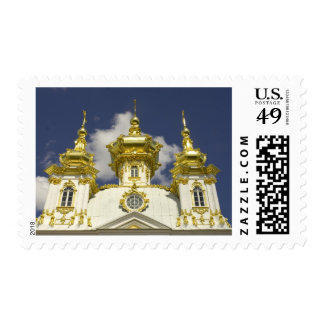Russia. Petrodvorets. Peterhof Palace. Peter the 4 Postage