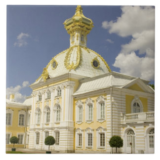 Russia. Petrodvorets. Peterhof Palace. Peter the 5 Ceramic Tile