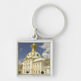 Russia. Petrodvorets. Peterhof Palace. Peter the 5 Keychain
