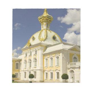 Russia. Petrodvorets. Peterhof Palace. Peter the 5 Notepad