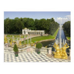 Russia. Petrodvorets. Peterhof Palace. Peter the Postcard