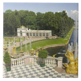 Russia. Petrodvorets. Peterhof Palace. Peter the Tile