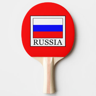 Russia Ping-Pong Paddle