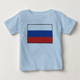 Russia Plain Flag Baby T-Shirt