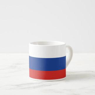 Russia Plain Flag Espresso Cup