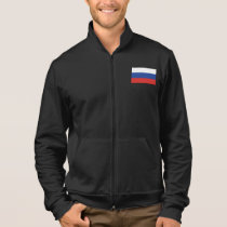 Russia Plain Flag Jacket