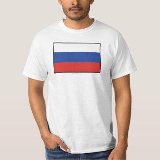 Russia Plain Flag Shirt